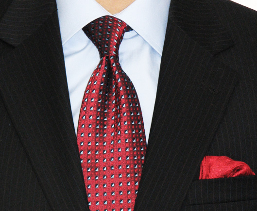 Half Windsor Knot -How to tie a tie